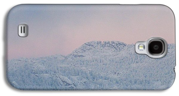 First Big Snow On Horsetooth Mountain Galaxy S4 Case