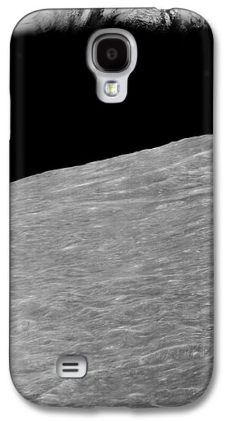 First Earthrise 1966 Galaxy S4 Case by NASA LOIRP Science Source