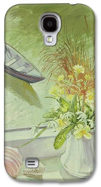 First Flowers And Shells Galaxy S4 Case by Timothy Easton