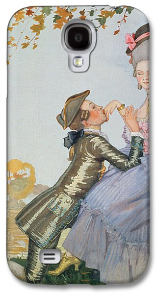 First Love Galaxy S4 Case by Konstantin Andreevic Somov