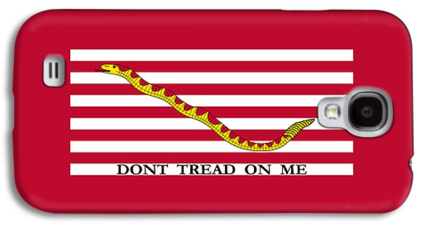 First Navy Jack Galaxy S4 Case by War Is Hell Store