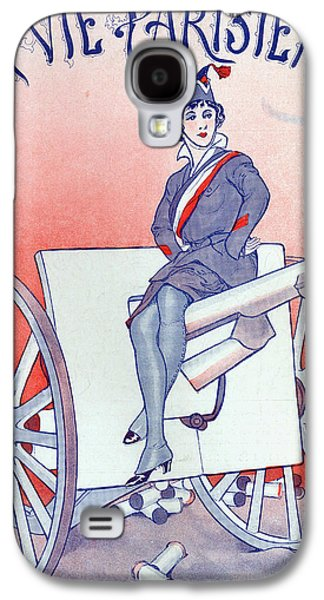 First World War Propaganda   Cover Of La Vie Parisienne Galaxy S4 Case by French School