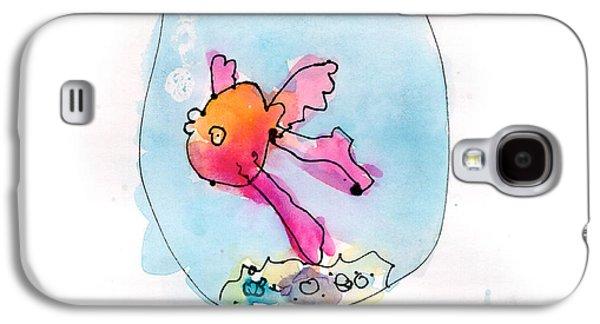 Fish Galaxy S4 Case by Adeline Longstreth Age Six
