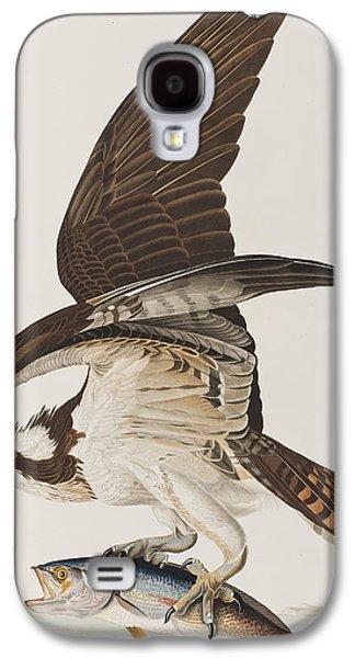 Osprey Galaxy S4 Case - Fish Hawk Or Osprey by John James Audubon