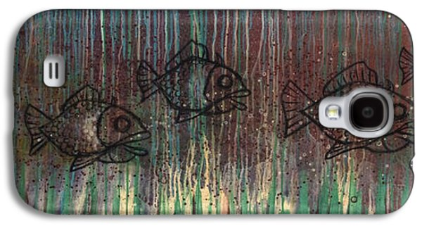 Fish Galaxy S4 Case by Kelly Jade King