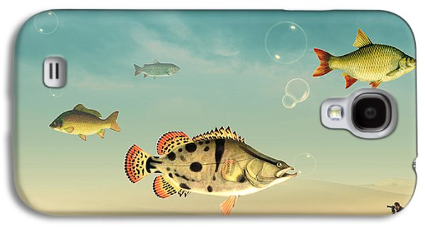 Fish Life  Galaxy S4 Case