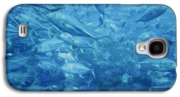 Fish Schooling Harmonious Patterns Throughout The Sea Galaxy S4 Case