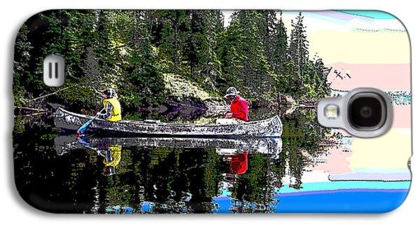 Fishing At Sunrise Galaxy S4 Case