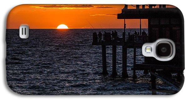 Fishing At Twilight Galaxy S4 Case