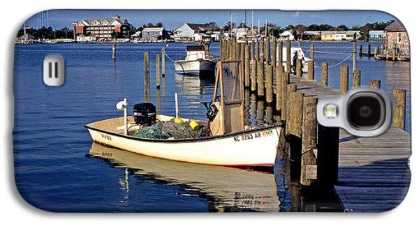 Fishing Boats At Dock Ocracoke Village Galaxy S4 Case by Thomas R Fletcher