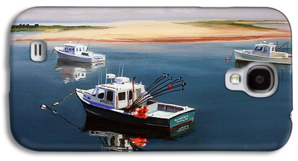Fishing Boats-cape Cod Galaxy S4 Case by Paul Walsh