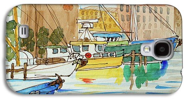 Fishing Boats In Hobart's Victoria Dock Galaxy S4 Case