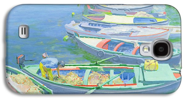 Boat Galaxy S4 Case - Fishing Boats by William Ireland