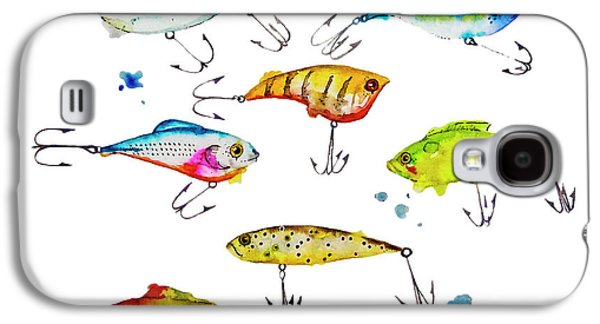 Fishing Is Fly No4 Galaxy S4 Case