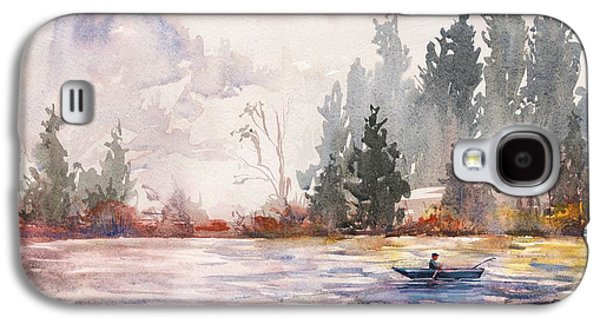 Fishing Galaxy S4 Case by Kristina Vardazaryan