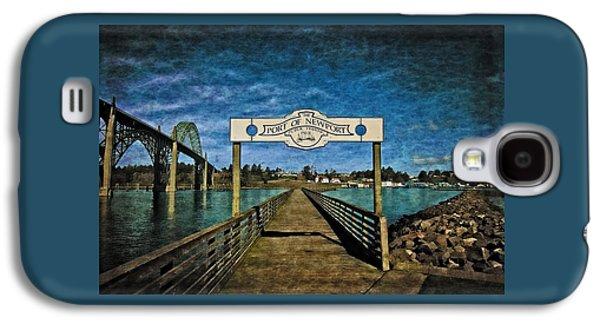 Fishing Pier Galaxy S4 Case