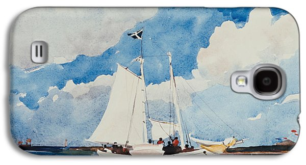 Fishing Schooner In Nassau Galaxy S4 Case by Winslow Homer