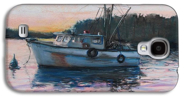 Fishing Trawler At Rest Galaxy S4 Case by Jack Skinner