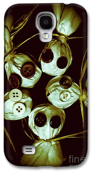 Five Halloween Dolls With Button Eyes Galaxy S4 Case by Jorgo Photography - Wall Art Gallery