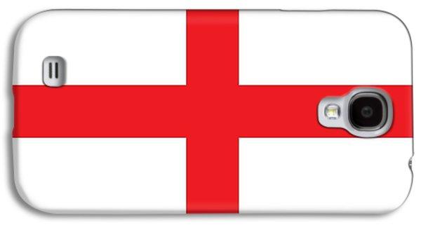 Flag Of England Galaxy S4 Case by English School