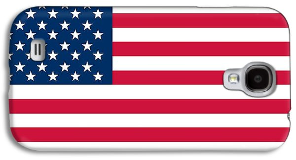 Flag Of The United States Of America Galaxy S4 Case by American School