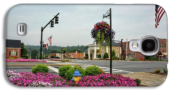 Flags And Flowers In Murphy North Carolina Galaxy S4 Case