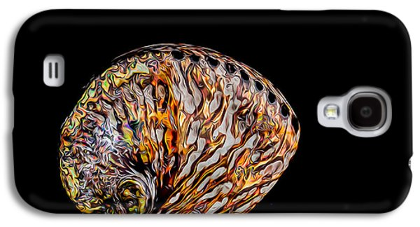 Galaxy S4 Case featuring the photograph Flame Abalone by Rikk Flohr