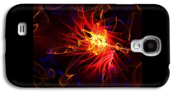 Flame Art Abstract Galaxy S4 Case