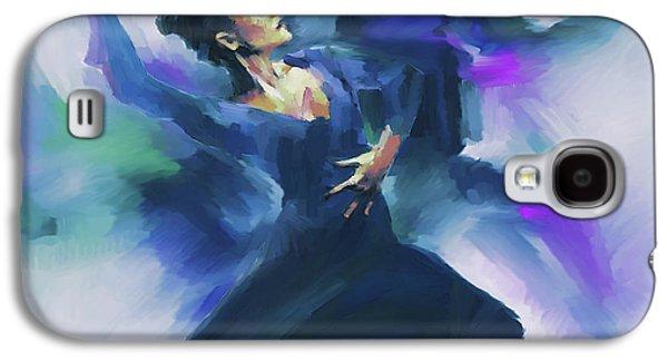 Flamenco Dance Art 67h Galaxy S4 Case by Gull G