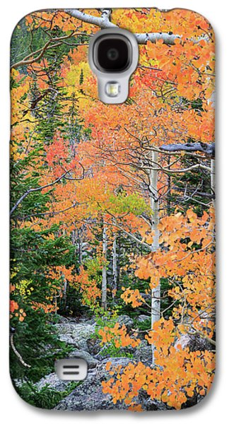 Flaming Forest Galaxy S4 Case