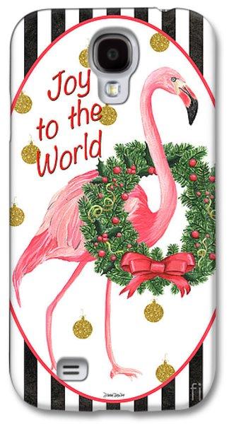 Flamingo Amore 2 Galaxy S4 Case by Debbie DeWitt