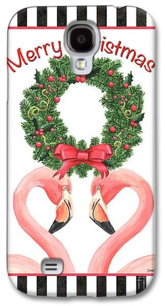 Flamingo Amore 3 Galaxy S4 Case by Debbie DeWitt