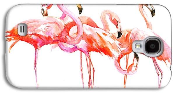 Flamingos Galaxy S4 Case