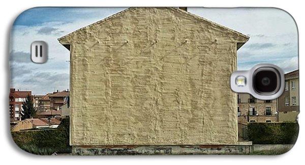 Flat House #architecture #building Galaxy S4 Case by Rafa Rivas