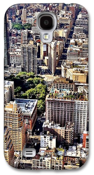 City Galaxy S4 Case - Flatiron Building From Above - New York City by Vivienne Gucwa