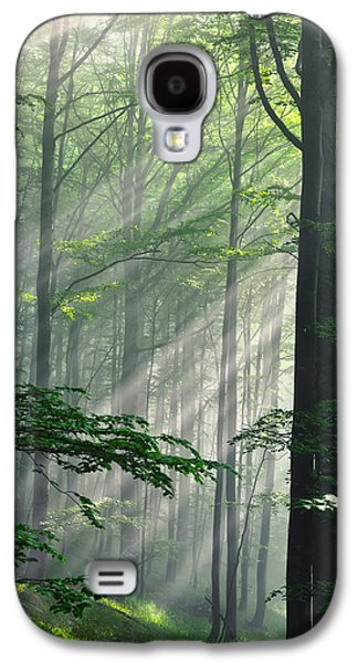 Fleeting Beams Galaxy S4 Case by Evgeni Dinev