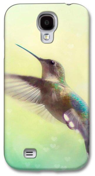 Flight Of Fancy - Square Version Galaxy S4 Case by Amy Tyler