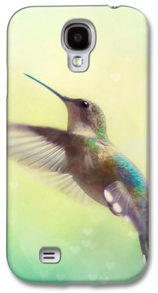 Flight Of Fancy - Square Version Galaxy S4 Case