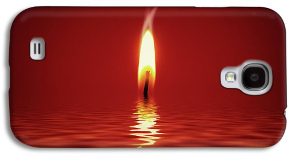 Floating Candlelight Galaxy S4 Case by Wim Lanclus
