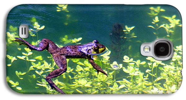 Floating Frog Galaxy S4 Case by Nick Gustafson