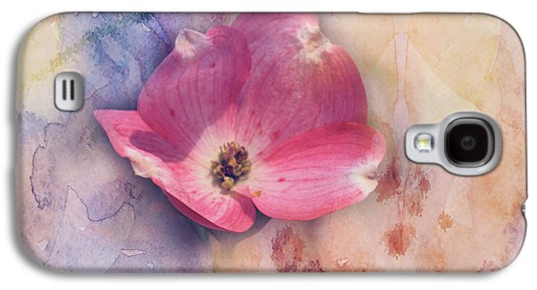 Floating Pink Bloom Galaxy S4 Case