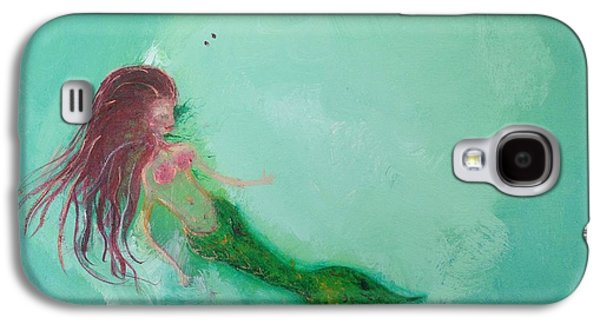 Galaxy S4 Case - Floaty Mermaid by Roxy Rich