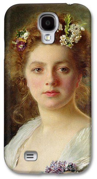 Flora Galaxy S4 Case by Gustave Jacquet