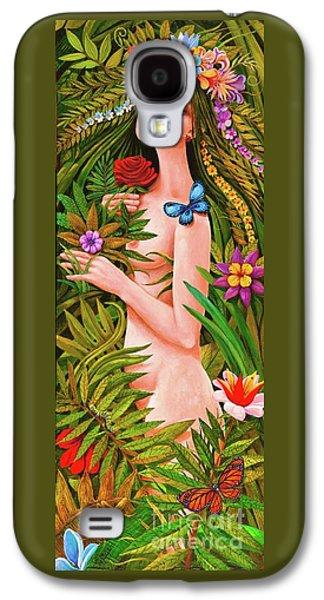 Flora Galaxy S4 Case