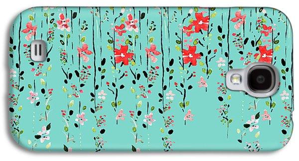 Floral Dilemma Galaxy S4 Case by Uma Gokhale