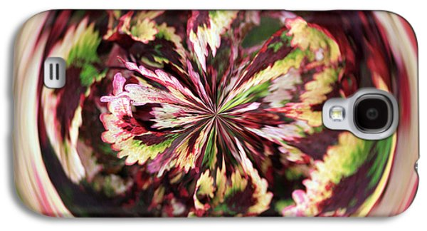 Galaxy S4 Case featuring the photograph Floral Orb by Bill Barber