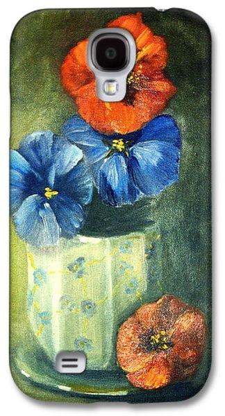 Floral Still Life Galaxy S4 Case
