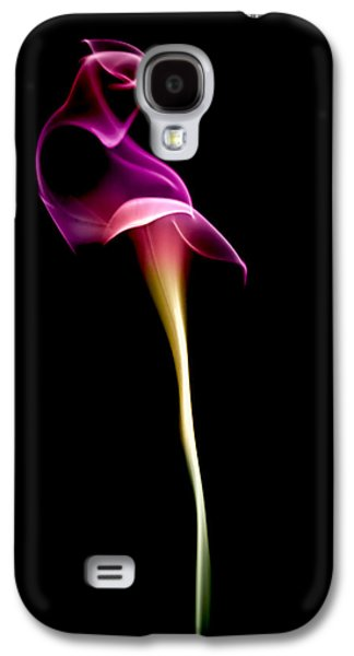 Lily Galaxy S4 Case - Floral Wisp by Maggie Terlecki