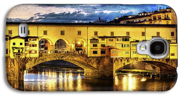 Florence - Ponte Vecchio Sunset From The Oltrarno - Vintage Version Galaxy S4 Case