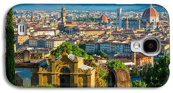 Florentine Vista Galaxy S4 Case by Inge Johnsson